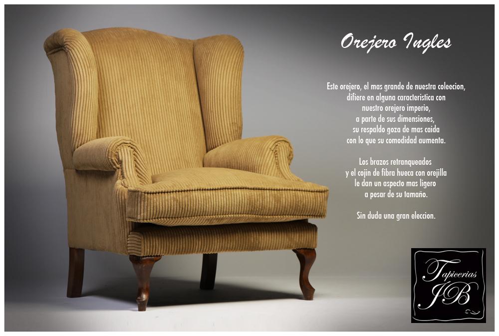 Tapicero en madrid tapicerias en madrid muebles nuevos - Sillon orejero ingles ...